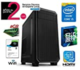 PC Ordenador de Sobremesa Intel Core i5-520M 2.40 Ghz | Memoria RAM de 8 Gb | HDD 1 TB | RW DVD / CD | Intel Graphcis HDMI
