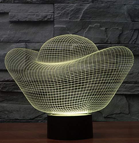 Goldbarren 3D Nacht Light3D Led Nachtlicht Sichtlampe Der Optischen Täuschung 3D 7 Färbt Fernnoten-Tabellen-Schreibtisch-Lampe -