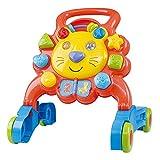 Playgo- Correpasillos Leoncito multiactividades, Multicolor, andador bebé (Colorbaby 44558)
