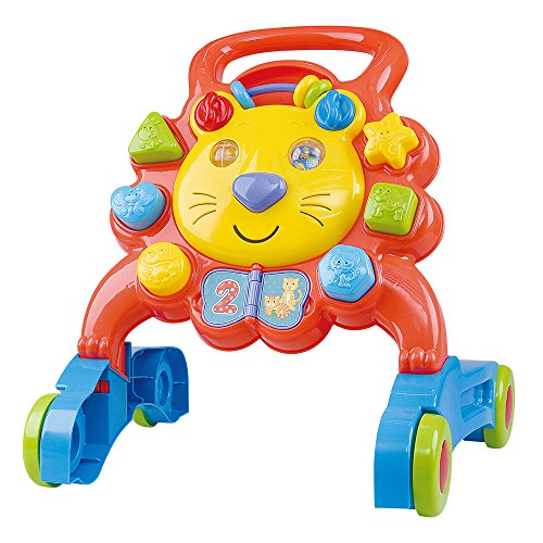 PlayGo- Andador León multiactividades, Multicolor, bebé (ColorBaby 44558)