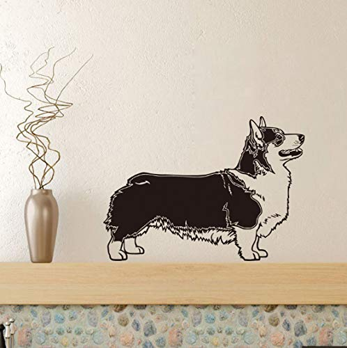 DIY Wandaufkleber, Pembroke Hund Vinyl abnehmbare Home Decor Decal Art
