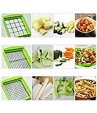 HARISWARUP ENTERPRISE 15-in-1 Plastic Fruit and Vegetable Graters, Slicer, Chipser, Dicer, Cutter (Multicolour)