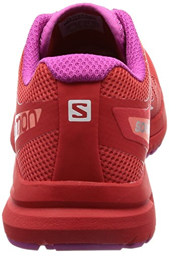 Salomon Sonic Pro 2 Womens Chaussure de Course À Pied - SS17 red