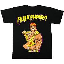 8tees - Camiseta Hulk Hogan Hulkamania 1984