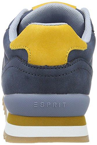 ESPRIT Damen Astro Lace Up Sneakers Blau (400 Navy)