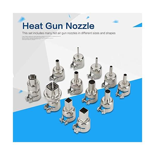 Kit de boquillas de pistola de calor para 850 estaciones de soldadura de