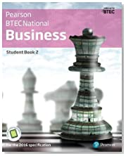 BTEC Nationals Business Student Book 2 + Activebook: For the 2016 specifications (BTEC Nationals Business 2016)