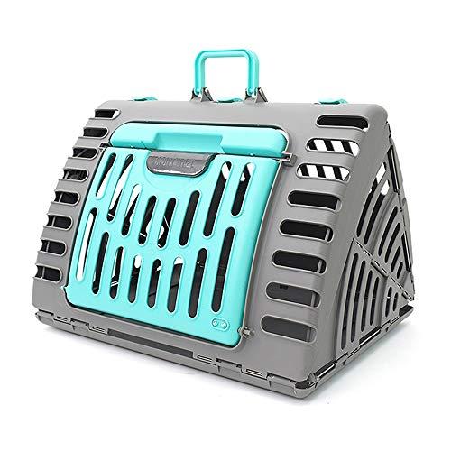 KYEEY Haustier Zwinger Pet Zwinger Outgoing Tragbare Katzen-Tasche Kreative Cat Cage kleine Hunde Faltbare Vent Box Air Box-Handtasche for Haustiere Reise-Haustierkäfig