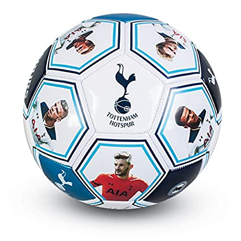 Tottenham Hotspur FC Official Players Photo Signature Football (Size 5)