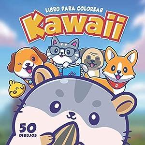 Libro Para Colorear Kawaii: 50