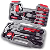 Hi-Spec 39 Piece Home & Office Toolkit Set for Easy DIY & Repairs. Hand Tools in a Compact  Case