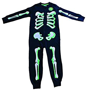 WARM AND SNUG: These adult onesie pajamas are made using ultra Tipsy Elves Women's Skeleton Halloween Costume Bodysuit with Back Printing - Sexy Skeleton Costume Jumpsuit Female .