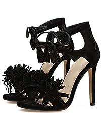 Donna Padders con tacchi sandali con cinturino Pendente