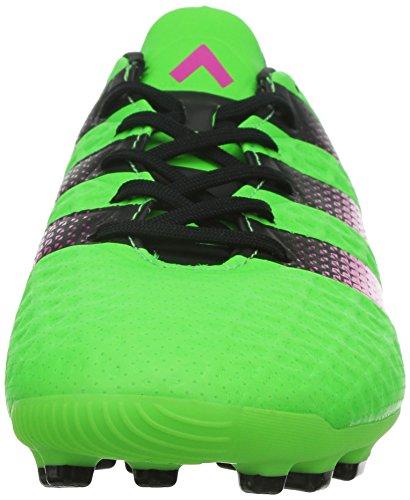 adidas Ace 16.3 Ag, Chaussures de Football Homme, Bleu, Talla Unica Vert / Rose / Noir (Versol / Rosimp / Negbas)
