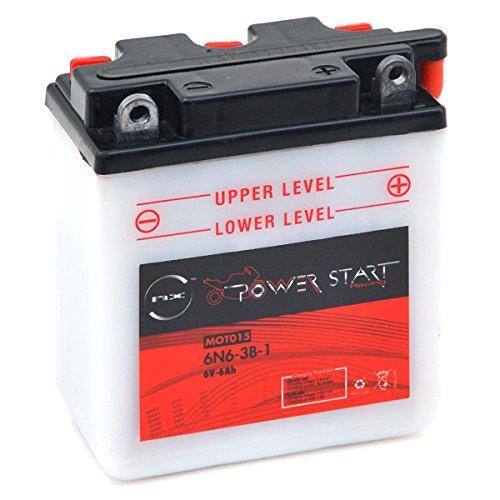 NX - Batteria moto 6N6-3B-1 6V 6Ah