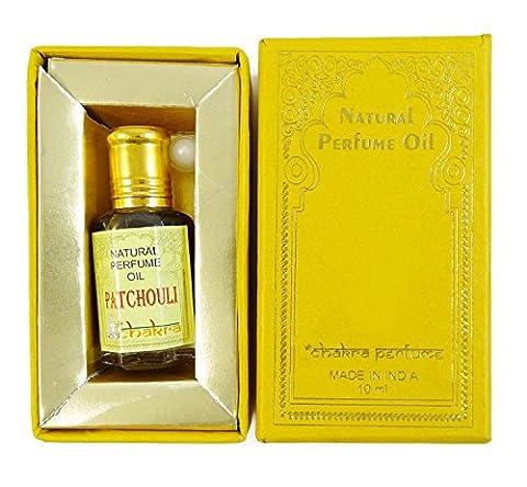 Chakra parfum naturel Patchouli Parfum 100% naturel pure Parfum 10ml