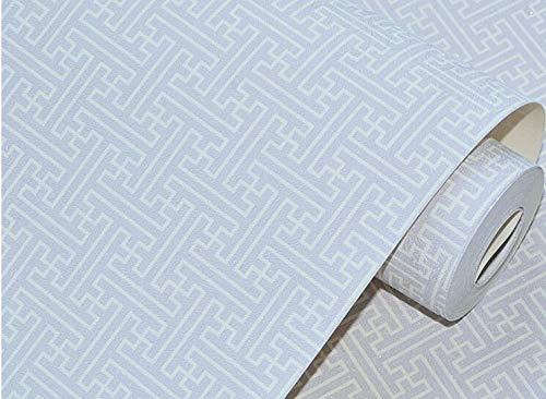 DUOCK Gebürstet unten Plaid Lattice chinesisches Restaurant, Tapete Wohnzimmer Speisezimmer Lobby voller Werke Tapeten, Bt 2173, 53 CM X 10 M Plaid Unten
