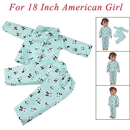 für American Girl Boy Neue Kleidung Puppenkleider (ohne Puppen), Malloom Zubehör Set Spielzeug Puppenkleider Kleiderschrank für 18 Zoll für American Girl Dolls