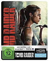 Tomb Raider 4K Ultra HD Steelbook [Blu-ray] [Limited Edition]