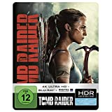 Tomb Raider 4K Ultra HD Steelbook [Blu-ray]