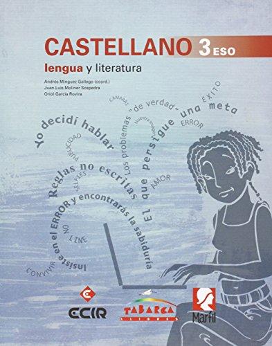 CASTELLANO, LENGUA Y LITERATURA 3 ESO - Pack de 3 libros - 9788480253895 por Andrés Mínguez Gallego
