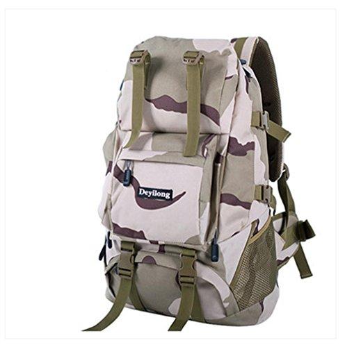BUSL Aumentare all'aperto uomini e donne zaino da viaggio alpinismo tracolla della borsa borsa del computer 60L Escursionismo . c d