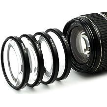 4x Makro Filtro para Canon EF 16-35mm f/2.8L II USM EF 24-70mm f/2.8L II USM TS-E (82mm)
