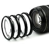 4x Makro Filtro para Sigma 105mm F2.8 EX DG OS HSM Makro 18-50 F3.5-5.6 70-300mm F4-5.6 (58mm)