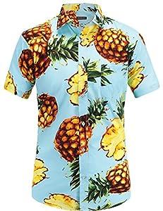 JEETOO - Camisa de Vestir