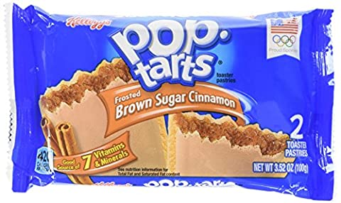 Kellogg's Pop-Tarts Frosted Brown Sugar Cinnamon Single Serve Pastries 100