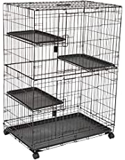 AmazonBasics 3-Tier Cat Cage Playpen