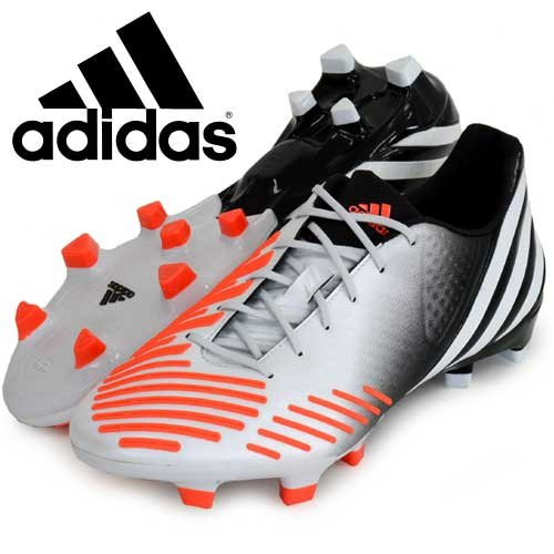 adidas Predator LZ TRX FG, Scarpe da calcio uomo bianco/nero - bianco