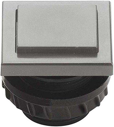 Grothe Klingeltaster 13,5x16mm PROTACT 680 KS Knopf ws, Hülse ws PROTACT Klingeldrücker 4011459610470