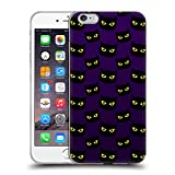 Head Case Designs Offizielle PLdesign Purpurrot Katze Muster Halloween Soft Gel Hülle für iPhone 6 Plus/iPhone 6s Plus