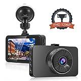 DashCam Auto Kamera 1296P Full H, 3 Zoll Große IPS Schirm Dash Kamera, überlegene Nachtsicht mit WDR / HDR / Sony Sens