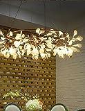 bian-50Rustikal Designers Messing antik Metall Kronleuchter Wohnzimmer/Schlafzimmer/Esszimmer/Arbeitszimmer/Büro white-220-240v