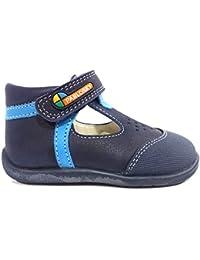 Pablosky 257401 - Zapatillas con Velcro Infantiles, Color Blanco, Talla 29