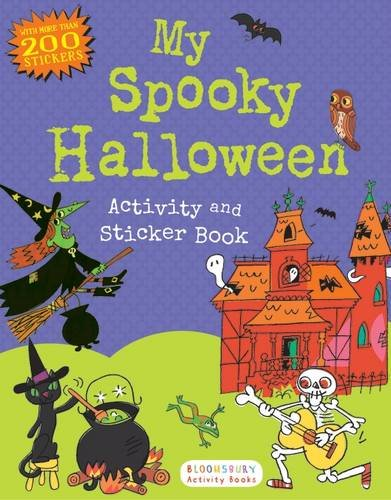 My Spooky Halloween Activity and Sticker Book