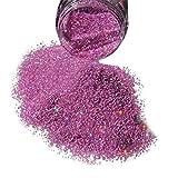 Tefamore Nail Glitter Powder brun foncé Café AB Nail Art DIY UV brillant paillettes 5g
