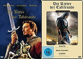 Die Ritter der Tafelrunde - Klassiker Collection - Lancelot der verwegene Ritter + Prinz Eisenherz + Camelot der Flucht des gol