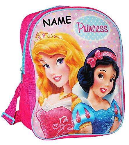 """Kinder Rucksack - """" Disney Princess - Dornröschen & Schneewittchen """" - Tasche - wasserfest & beschichtet - Kinderrucksack / groß Kind - Mädchen - z.B. für Kindergarten / Vorschule / Schule - Prinzessi"""