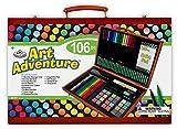 Royal & Langnickel Set Art Adventure 100 Pièces Dimensions de la boîte 27 cm x 41 cm x 5 cm Multiple