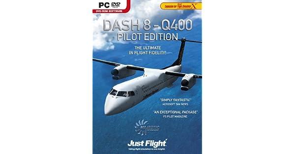 Dash 8 Q400 Pilot Edition (PC DVD): Amazon co uk: PC & Video Games
