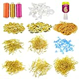 #8: Unobite 14 Piece Silk Thread Jewellery Making Kit with Mould and Jewellery Findings