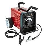 Saldatrice Ad Arco Portatile Da 250 Amp Con Kit Accessori Turbo Fan Raffreddato