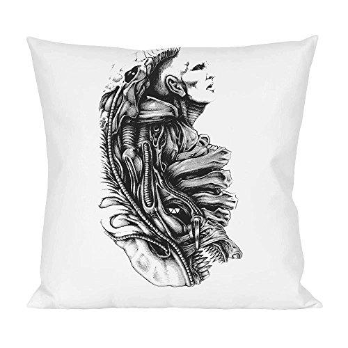 Prometheus alien wip Pillow