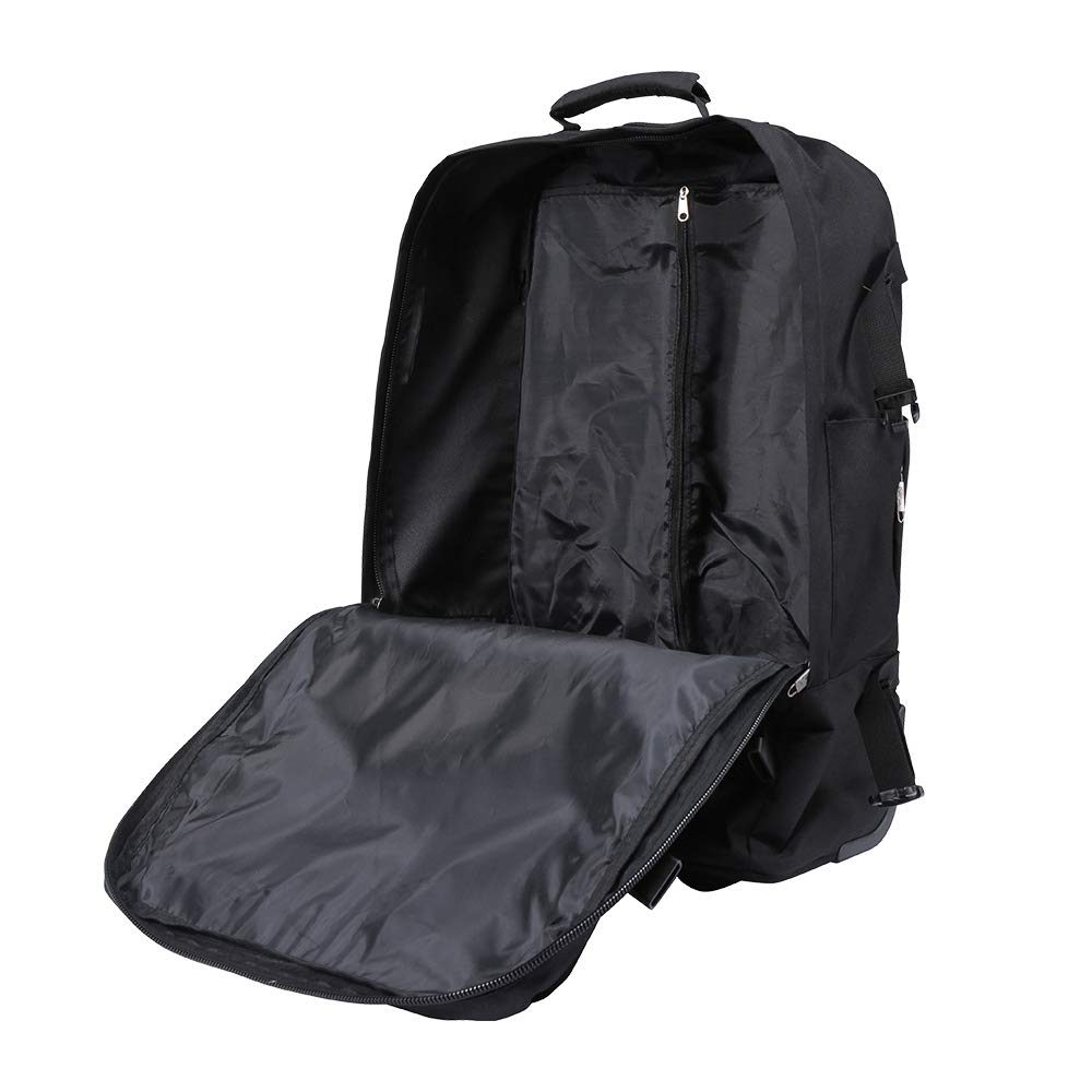 9977f61066a Cabin Max - Quebec Hybrid Trolley Backpack - Cabin Bag 55 x 40 x 20 with