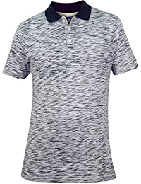 924e20d1c0 Mens GA Printed Polo Collar Cotton T-Shirt Pocket Top