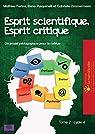 Esprit scientifique, esprit critique, tome 2  par Pasquinelli