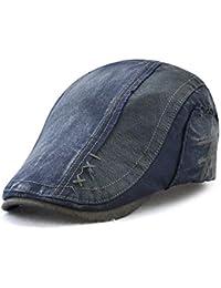 CDXDSV Chapeau de Parasol en Coton d été pour Hommes réglable en Plein air  béret 76cd73048c4